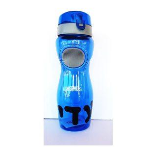"""בקבוק שתיה חזק ואיכותי 800 מ""""ל THERMOS + מדבקת שם עמידה במים"""