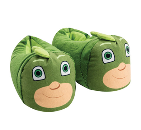 נעלי בית ראש מובלט כוח פיג'י ירוק