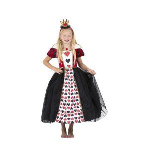 תחפושת מלכת הלבבות בשמלה ארוכה -שושי זוהר