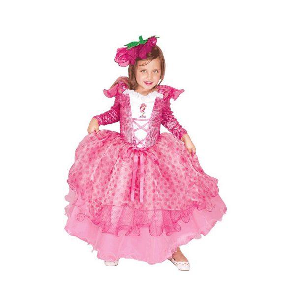תחפושת לפורים תותית בשמלה ורודה - שושי זוהר