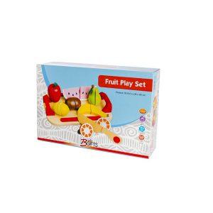 משחקי עץ לילדים ערכת חיתוך פירות - BGIFTS