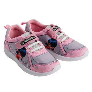 נעלי ספורט לילדות ילדת חיפושית צבע ורוד