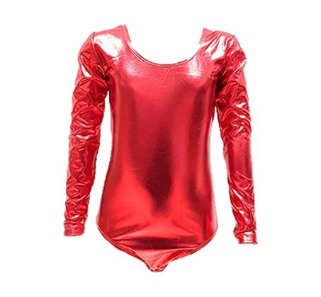 בגד גוף לתחפושת אדום
