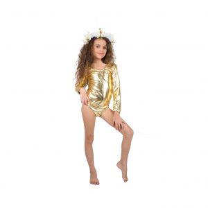 בגד גוף לתחפושת זהב