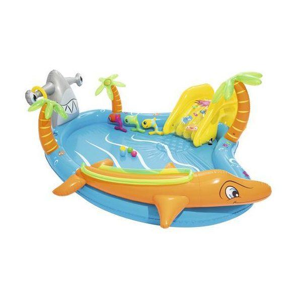 מרכז פעילות ימי דולפין כריש + מגלשה BESTWAY