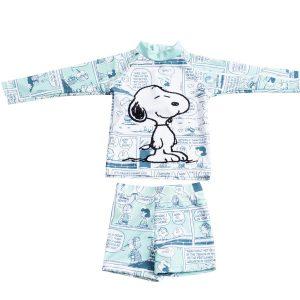 בגד ים לתינוקות 2 חלקים חולצה שרוול ארוך + מכנס במגוון דגמים לבחירה