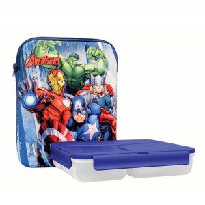 סט קופסאות אוכל לילדים ותיק תרמי במגוון מותגים - KAL GAV