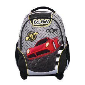 תיק אורטופדי X BAG מכונית מירוץ בשני צבעים לבחירה - KAL GAV
