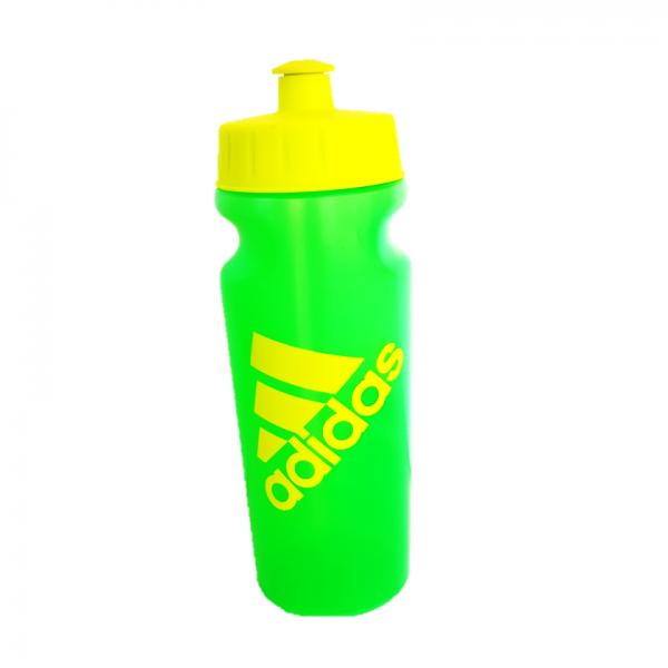 """בקבוק שתיה 500 מ""""ל עם פקק לחיץ חד כיווני שמונע דליפה של מים - ADIDAS"""