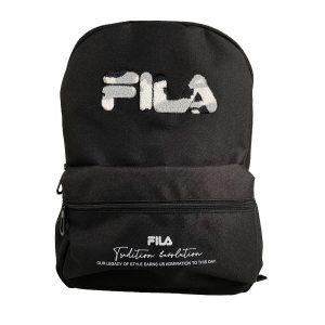 תיק גב 3 תאים לוגו גדול בצבעים לבחירה FILA