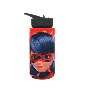 """בקבוק שתיה לילדות 500 מ""""ל במגוון דגמים + מדבקת שם עמידה במים - KAL GAV (העתק)"""