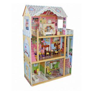 בית בובות מעץ לילדות דגם שני