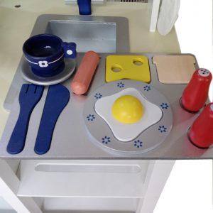 מטבחים לילדים - מטבח עץ דגם אלון