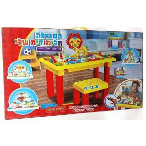 משחק המברגה 4 ב 1כולל שולחן + כסא.