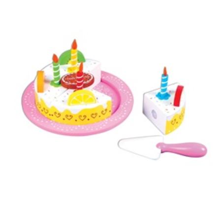 עוגת פירות יום הולדת עם אביזרים משלימים BGIFTS