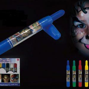 עפרונות איפור 6 צבעים עבים