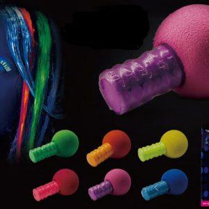 אבקת צבע ניאון לשיער בצבעים לבחירה