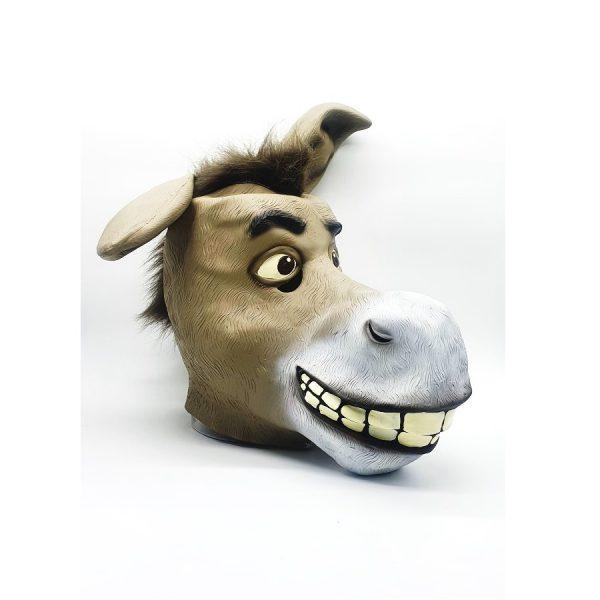 מסיכת פנים בדמויות חיות - חמור