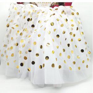 """חצאית טוטו 40 ס""""מ בצבעים לבחירה"""