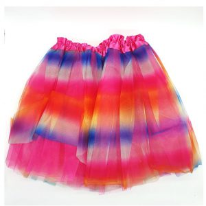 """חצאית טוטו צבעונית 40 ס""""מ בשני דגמים לבחירה"""