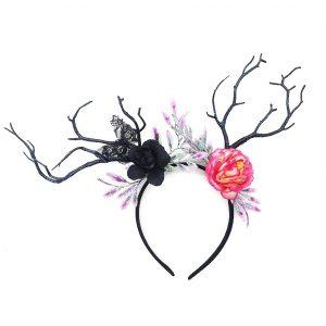 קשת איילה פרחים וענפים בדגמים לבחירה