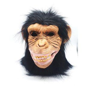 מסיכת פנים בדמויות חיות - שימפנזה
