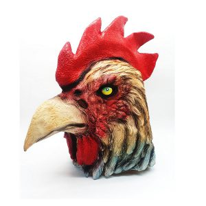 מסיכת פנים בדמויות חיות - תרנגול