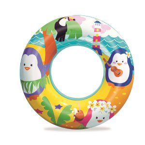 """גלגל ים הדפס עולם המים 51 ס""""מ בצבעים לבחירה- BESTWAY"""