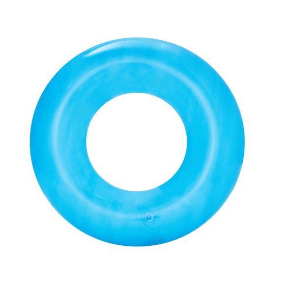 """גלגל ים שקוף בצבעי נאון לבחירה 51 ס""""מ - BESTWAY"""