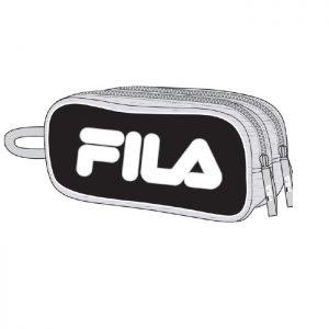 קלמר 2 תאים לוגו גדול במבחר צבעים - FILA
