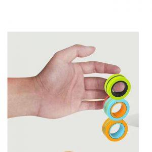 2 יחידות אצבעות מגנט FINGERS MAGNET משחק פעלולי מגנט