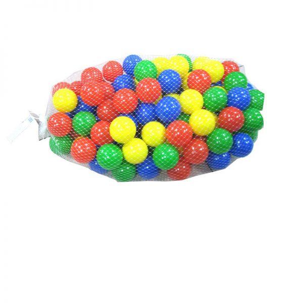 """100 כדורי משחק צבעוניים בגודל 6 ס""""מ IAM TOYS"""