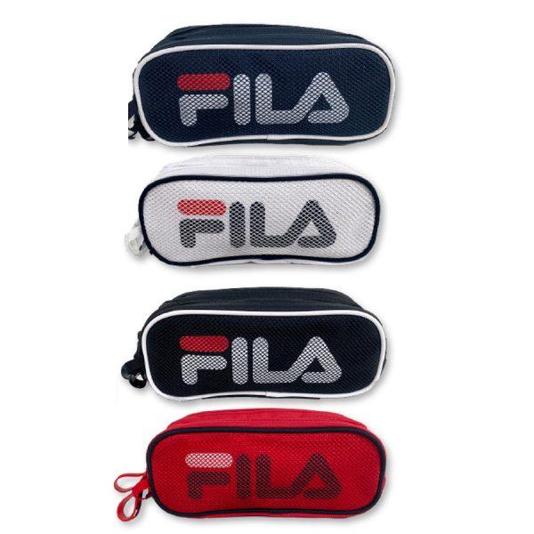 קלמר 2 תאים לוגו גדול FILA