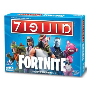 משחק קופסא מונופול FORTNITE - קודקוד