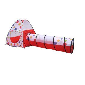 אוהל משחק עם מנהרה + 100 כדורים - I AM