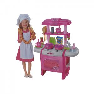 מטבחים לילדים - מטבח השף הקטן עם ברז מים NSN