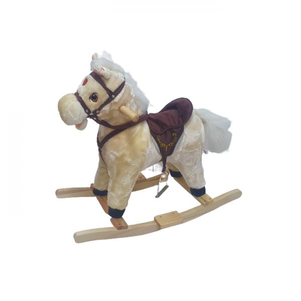 סוס נדנדה מנגן ושר במגוון צבעים לבחירה - JOCKER
