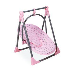 כיסא אוכל לבובה 4 ב 1 ובובת תינוק IAM