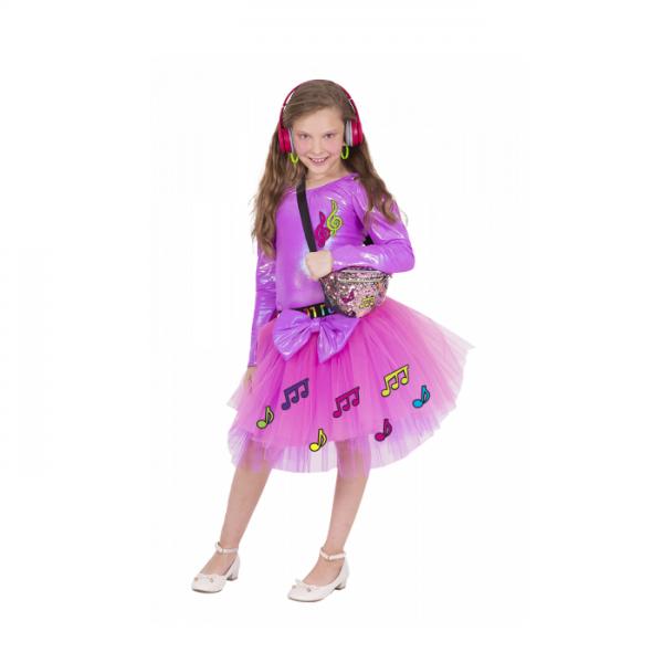 תחפושת לפורים נערת TIKTOK בצבעים לבחירה - שושי זוהר
