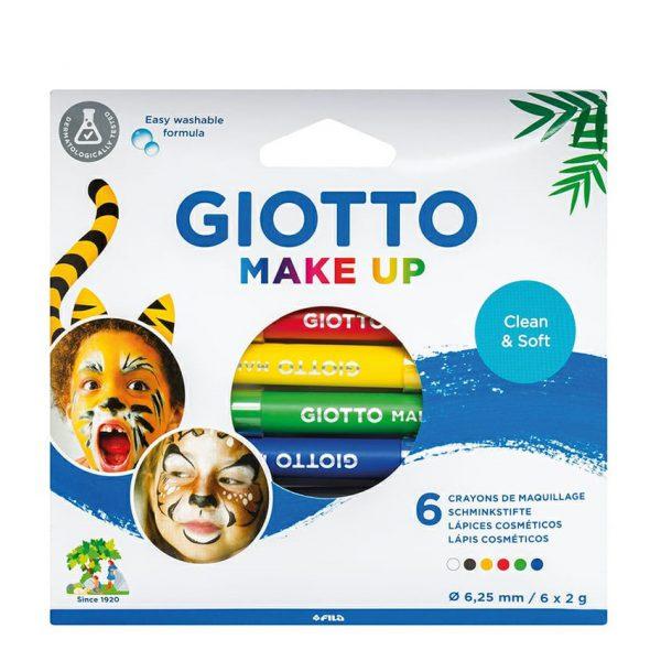 מארז 6 עפרונות איפור איכותי - GIOTTO