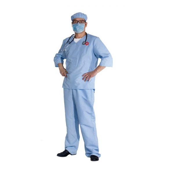 תחפושת לפורים רופא מנתח לגברים - רודריגז
