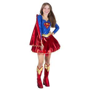 תחפושת לפורים סופרגירל שמלה לנערות - שושי זוהר