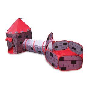 אוהל טירה קסומה 3 ב 1 כולל 50 כדורים - IAM TOYS