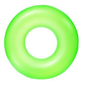 """גלגל ים שקוף בצבעי נאון לבחירה 91 ס""""מ - BESTWAY"""