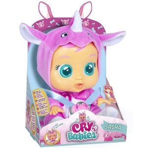 בובת תינוק בוכה עם דמעותCry Babies Baby Doll