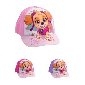 כובע בייסבול לילדים דגם מפרץ ההרפתקאות בנות בצבעים לבחירה