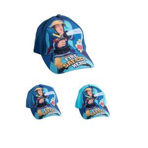 כובע בייסבול לילדים דגם סמי הכבאי בנים בצבעים לבחירה