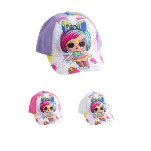כובע בייסבול לילדים דגם LOL בצבעים לבחירה