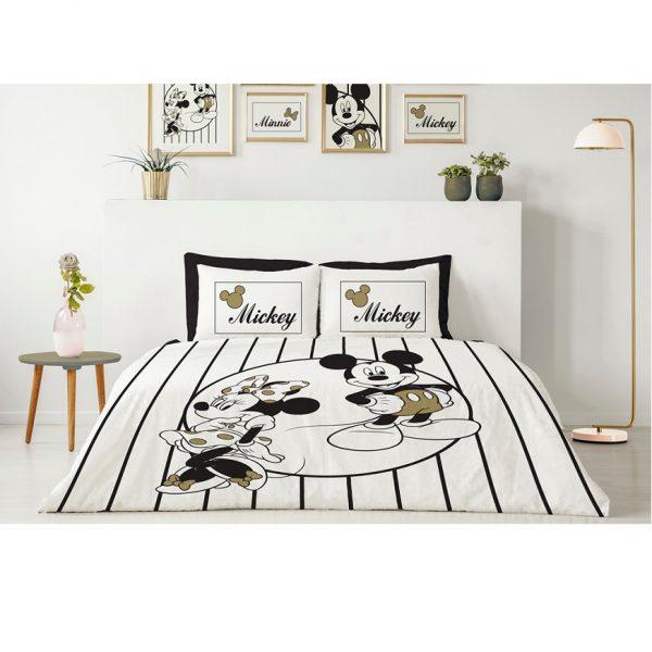 סט מצעים למיטה זוגית 3 חלקים בדגמים לבחירה DISNEY