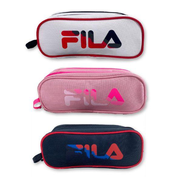 קלמר 2 תאים לוגו מתחלף - FILA